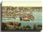 Canvas Print Wall Art Picture Rothsay (i.e. Rothesay), West Bay, Scotland