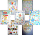 BABY COT QUILT PANEL CHILDREN NURSERY BEDDING FABRIC PATCHWORK QUILTING SQUARES