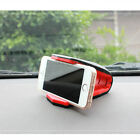 1x Car Adjustable Crocodile Clip Cell Phone Silicone Holder Mount
