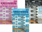 5ft Glitz Birthday Hanging Party Decorations 6PK String Colour Age 13-100