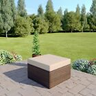 Brown Rattan Corner Modular Wicker Weave Garden Furniture Sofa Free Cover