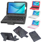 """Samsung Galaxy Tab E 8"""" T377 Removable Bluetooth Keyboard Fold Stand Case Cover"""