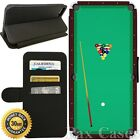 Flip Wallet Case For iPhone 7 / 7 Plus-Card Holder+Stand-Pool Table Billiards $11.99 USD