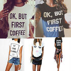 Fashion Women Summer Casual Fashion Cotton Blouse Short Sleeve Shirt T-shirt Top