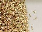 14k Gold Filled  1x4mm Liquid Gold Spacer Tube Beads, Choice of Lot Size & Price