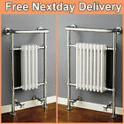 Traditional Victorian Chrome Bathroom Heated Towel Rail Radiator