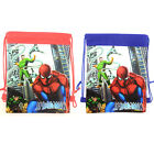 New Spiderman Drawstring Bag Boys Backpack PE GYM Sling Swimming Shoes Party