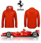 NEW PUMA FERRARI F1 LUXURY WOVEN WINDBREAKER RED JACKET HOOD COAT