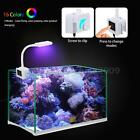 RGBW Aquarium Light Clamp Clip 1.8W 9LED 16-Color Changing 3-Mode NEW S5N8