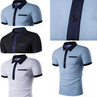 2017 Top New Fashion summer Men's Casual cotton short sleeve T-shirts for Man