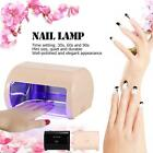 9W LED Nail Lamp Gel Curing Nail Dryer Nail Salon 3 Optional Time Settings H7K7
