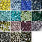 288p ss30 Flatback Non hotfix crystal glass Rhinestone Nail Art Decoration Beads