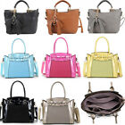 Women's Bow Charm Handbags Nice Faux Leather Shoulder Tote Bag For Women School