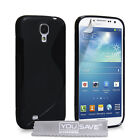 Yousave Accessories Soft Silicone TPU Gel Case Cover For The Samsung Galaxy S4