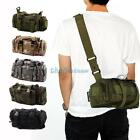 Molle Tactical 3 Ways Utility Waist/Shoulder/Handbag Pouch Bag Black Outdoor NEO
