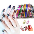 Colorful Rolls Thin Striping Tape Line Nail Art Tools Beauty Decoration Sticker