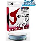 Daiwa J Braid x8 Multi-coloured 150m BRAND NEW at Otto's Tackle World