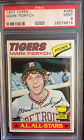 1977 Topps Mark Fidrych #265 PSA 9 Mint Rookie All Star Detroit Tigers RC 9 10's