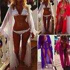 Womens Swimwear Beachwear Bikini Beach Wear Cover Up Kaftan Summer Long Tops