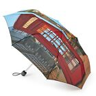 Fulton Minilite-2 Compact Folding Round Umbrella in Various Delightful Prints
