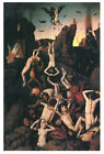 Bouts - Descent Into Hell (1468) Art Canvas/Poster Print A3/A2/A1