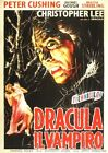 THE HORROR OF DRACULA RARE 1958 HAMMER FILM A3/A2 POSTER REPRINT CHRISTOPHER LEE