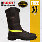 Oliver 66396 Pull On Structural Firefighter Boots. Water Proof. Flame Retardant