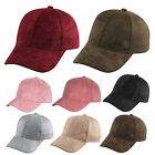 New Beauty Men Women Suede Baseball Cap Snapback Visor Sport Sun Adjustable Hat