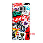 Supreme red new 2017 design soft silicone mix for Samaung Galaxy S4/S5/S6/S7