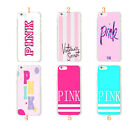 New Victoria's Secret Luxe Pink Hard Case Cover For Apple iPhone 6 6S & 6 PLUS