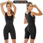 TUTA INTERA DONNA FITNESS SNELLENTE DIMAGRANTE HOT SAUNA NEOPRENE ANALLERGICO