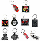 AC/DC Keyring Keychain Black Ice band Highway to Hell logo new Official