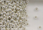 925 Sterling Silver 5mm Seamless Round Spacer Beads, Choice of Lot Size & Price