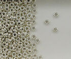 925 Sterling Silver 3mm Plain Tire Spacer Beads, Choice of Lot Size & Quantity