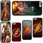 Superhero The Flash Plastic Phone Case Cover For iPhone / iPod Touch / Samsung