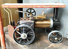 VINTAGE LIVE STEAM MAMOD MODEL TE1A STEAM TRACTOR TRACTION ENGINE - FREE UK P&P