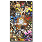 Overwatch Poster Hot Game Art Silk Poster 13x24 inch Home Decor Gift