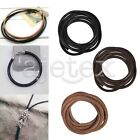 1M Real Leather Cord Thread String Wire Jewelry Beading Bracelet Making 4/5/6mm