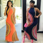 New Women Ladies Dress Boho Maxi Long Evening Party Dress Beach Dress Sundress