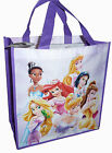 Shoulder Shopping Gift Bag Tote Non Woven Disney Princesses Pink Purple New
