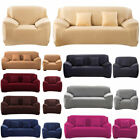 Home Furniture Soft Micro Suede Sofa Couch Loveseat Armchair Cover Slipcover hg