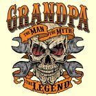 Grandpa - The Man Myth Legend T Shirt  You Choose Style, Size, Color 10547 image