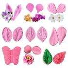 Silicone Petal Flower Fondant Icing Cake Decor Chocolate Sugar Baking Mold