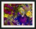 Studio Works Modern 'Flowers and Berries' Framed Acrylic ...
