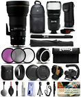 Sigma 300mm F2.8 EX APO DG HSM Lens for Canon + All You Need Accessory Kit