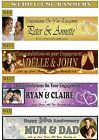 Personalised Wedding & Engagement Celebration Banners With Your Photo & Name