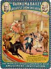 Vintage Barnum and Bailey Circus Poster A3 Print