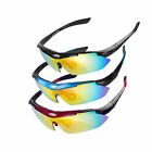 Cycling Bike Outdoor Sports Sunglasses  5 Lens Goggles Eyewear Polarized Bicycle