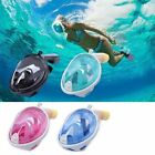 Swimming Diving Full Face Snorkel Scuba Anti-Fog Snorkeling Mask Surface F GoPro