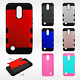 For LG K20 Plus Tuff Trooper HYBRID TPU Protector Hard Case Skin Phone Cover